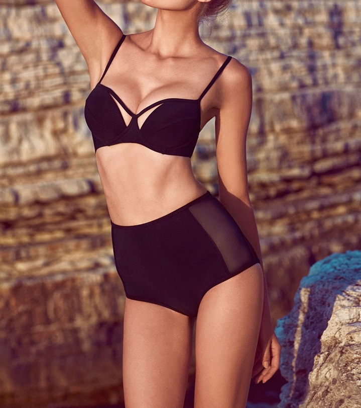 Mesh Two Piece Bikini