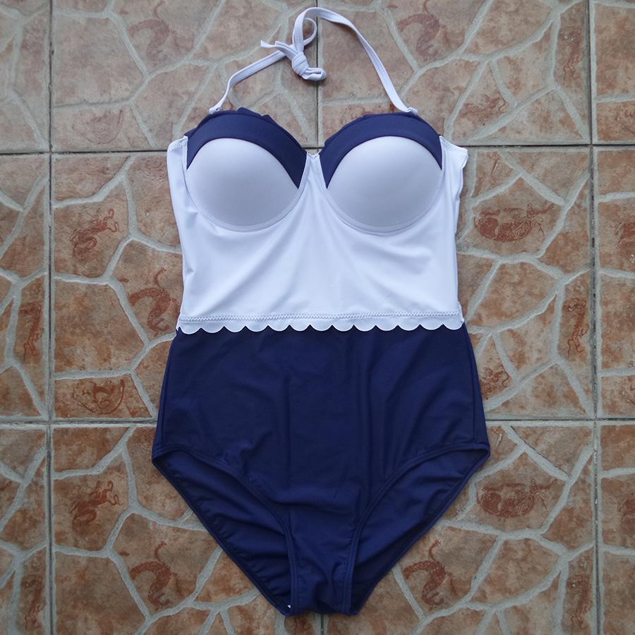Dual Color Double Trim Bikini