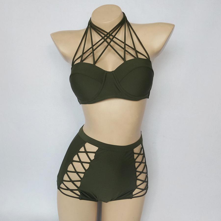 Criss Cross Stringy Bikini
