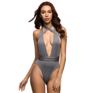 Deep V Wraparound Bikini