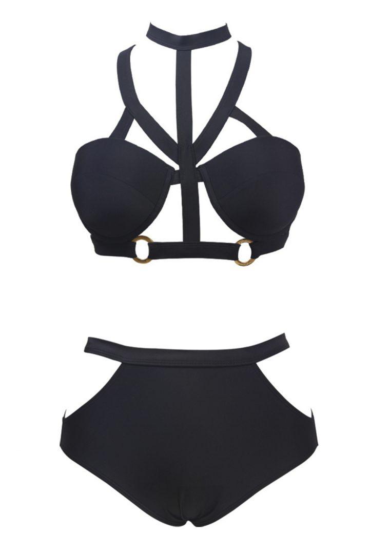 Strappy High Waist Bikini